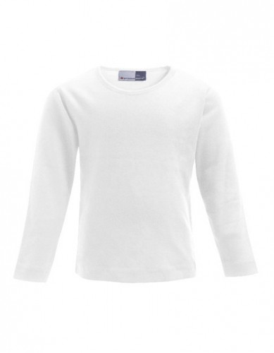 Kinder-Langarm-Shirt ohne Logo-Stick